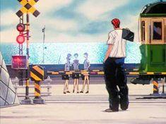 「スラムダンクの踏切」 江ノ島電鉄 鎌倉高校前駅 言わずと知れた 赤毛の男