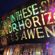 Wales Millennium Centre, Cardiff Bay, Cardiff, Wales