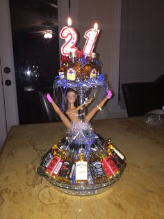 More like dirty thirty 21st Birthday Crafts, Guys 21st Birthday, 21st Bday Ideas, Birthday Bash, Birthday Gifts, Birthday Parties, Birthday Ideas, Liquor Bouquet, Candy Bouquet