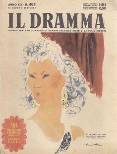 IL DRAMMA anno 19 n.404 - 15 giugno 1943 -  NON TRADIRE di Vincenzo Tieri
