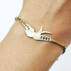 Wander Bird Bracelet by iadornu on Etsy, $26.00