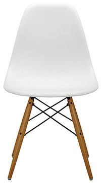 Eames DSW Chair White - modern - Dining Chairs - The Conran Shop