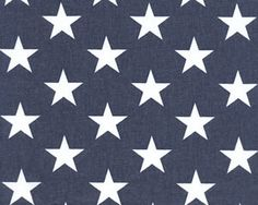 Stars Blue by Premier Prints - Drapery Fabric - Discount Fabrics