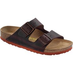 slippers: Birkenstock Women´s Arizona Habana Waxy Leather Sandals 39 W EU R 652361 Birkenstock Style, Birkenstock Arizona, Fashion Slippers, Rust Color, Womens Slippers, Leather Sandals, Stylish, Classic, Womens Fashion