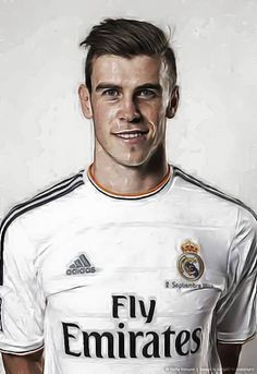 Gareth Bale. Something deep inside me wants this haircut. Something deep inside me tells me Mom would come at me with clippers while I sleep.