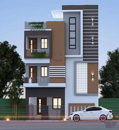 House Balcony Design, House Outer Design, House Arch Design, House Main Gates Design, 3 Storey House Design, House Outside Design, Bungalow House Design, Small House Design, Indian House Exterior Design