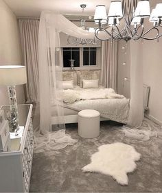 White canopy bedroom - Schlafzimmer - Your HairStyle Room Makeover, Room, Girl Bedroom Designs, Dream Bedroom, Room Inspiration, Bedroom Decor, Canopy Bedroom, Dream Rooms, New Room
