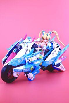 画像 Anime Girl Dress, Anime Art Girl, 3d Character, Character Design, Action Figure One Piece, Cyberpunk Girl, Frame Arms Girl, Futuristic Motorcycle, Robot Girl