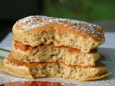 Bake&Taste: Bananowe placuszki z płatkami owsianymi
