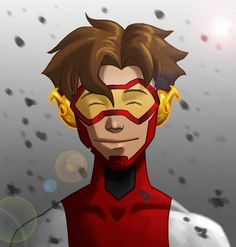 "YJ: Masks by *bbfan77 on deviantART. ""I know Nathaniel... Big mission. Lots to do.""    ...    ""You can call me Impulse.. or Bart or Bart Allen or Bart Impulse Allen, s'all crash!"""