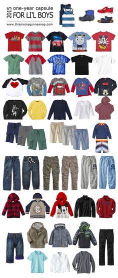Stevie Fan Club {Creating a Capsule Wardrobe for Kids}