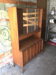 Fabulous Breakfront China Cabinet Clic Midcentury Eal 0athis Is A Sy Piece
