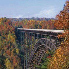 Autumn in WEST VIRGINIA USA