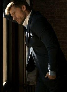 Nikolaj Coster-Waldau, photographed by James Dimmock for Esquire UK, April 2014 . Esquire Uk, Nikolaj Coster Waldau, Beautiful Men, Handsome, Romance, Actors, Saints, York, Fictional Characters