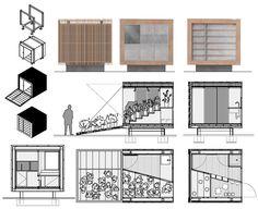 quioscos mobiliario urbano - Buscar con Google Street Furniture, Divider, Floor Plans, Architecture, Google, Room, Home Decor, Flower Stands, Kiosk