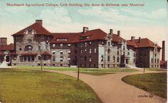 Canada Quebec Ste. Anne de Bellevue - Macdonald Agricultural College postcard | eBay