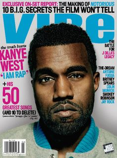 Vibe magazine, Kayne West the pop music rapper