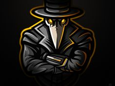 "Plague Doctor for guys from - ""Corvus Gaming"" Picture Logo, Photo Logo, Logo Free, Fantasy Football Logos, Mobile Logo, Team Logo Design, Esports Logo, Plague Doctor, Gaming Wallpapers"