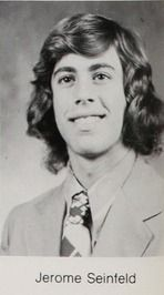 Jerry Seinfeld -- Class of 1972 at Massapequa High School in Massapequa, New York.  #1972 #JerrySeinfeld #yearbook #Massapequa