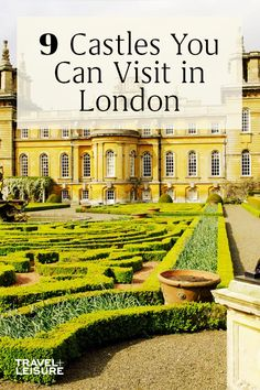 Here are 9 #castles you can visit while on a #daytrip #vacation to #London. #Travel #TravelIdeas #CastleVacation #ThingstodoinLondon #France | Travel + Leisure