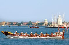 Genua's boat, Regatta of the Ancient Maritime Republics, Venice, Italy
