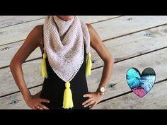 Crochet Mittens, Crochet Poncho, Free Crochet, Loom Knitting, Knitting Patterns, Tricot Simple, Lidia Crochet Tricot, Crochet Basket Pattern, Knit Fashion