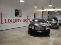 Bentley Continental GT Nero Opaco: dopo la lavorazione, frontale