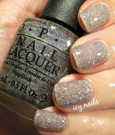 Icy Nails: OPI My Voice is a Little Norse: Swatch and Review