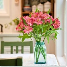 Blue Mason Jars feature in a very nice article on ways to use them.  All original photos and great ideas! ~ Mary Walds Place - 7 Easy Ways to Decorate With Mason Jars | eBay
