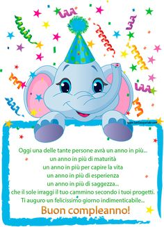 Ti auguro un felicissimo giorno indimenticabile... Buon compleanno!