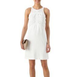 Chic lace dress white - Promod €15 but nylon