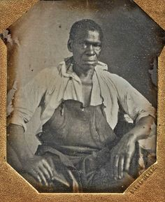 Isaac Jefferson, ca. 1847,  an enslaved blacksmith who   worked on Thomas Jefferson's   plantation. Jefferson had described the 'moral reproach' of slavery but by the 1790s, the most remarkable thing about his stand on slavery is his immense silence. Later, historian David Brion finds, Jefferson's emancipation efforts 'virtually ceased.' Moreover, the slaves most suited for immediate emancipation -- smiths, coopers, carpenters, skilled farmers -- were the very ones whom Jefferson most…