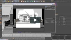 Architecture Modeling Exterior in Cinema 4D, preview video tutorial from www.tutorial-cinema4d.com, in Bahasa Indonesia
