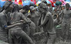 Korean Summer Festival Boryeong Mud Festival