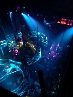 Pacha NYC; modeled after Ibiza, Spain's night club...with world renowned DJ's.