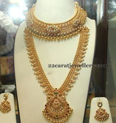 Antique Long Sets by PMJ - Jewellery Designs