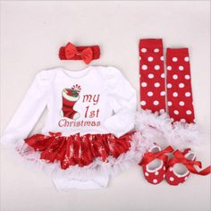 Material: High quality #Cotton.very soft and moderate thickness. Easy washing with a #snap closure. Ideal: to wear in any occasions, special for #Christmas, #Halloween, #birthday party, dancing, taking photos, holiday or daily etc. Long #sleeve Design ,suit for spring ,autumn,summer and winter ,Snap closure conveniently for changing baby's diaper. Winter Baby Clothes, Knitted Baby Clothes, Cute Baby Clothes, Baby Girl Winter, Costume Christmas, Christmas Tutu Dress, Kids Outfits Girls, Girl Outfits, Baby Girl Christmas