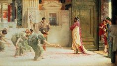 Sir Lawrence Alma-Tadema Caracalla painting is available for sale; this Sir Lawrence Alma-Tadema Caracalla art Painting is at a discount of off. Lawrence Alma Tadema, Roman History, Art History, Oil Canvas, Canvas Prints, Pre Raphaelite, Victorian Art, Traditional Paintings, Classical Art
