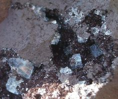 Fluorite from Florence mine, Egremont, Cumbria