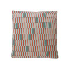 Patchwork Brittany Stripe Pillow with Tape Applique
