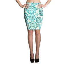 BLU Sublimation Cut & Sew Pencil Skirts