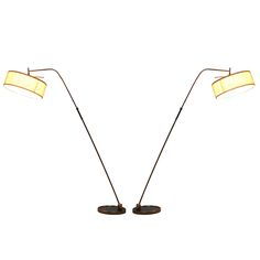 1stdibs - Two 1950's French Floor Lamp By Lunel explore items from 1,700  global dealers at 1stdibs.com