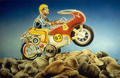 Wijnand Warendorf   OIL Toy 2, Monster Trucks, Motorcycle, Vehicles, Art, Art Background, Kunst, Motorcycles, Car