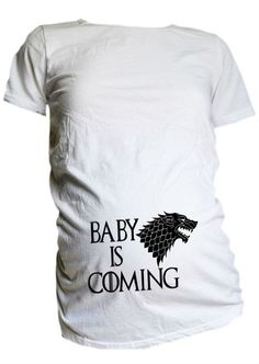Game of Thrones Maternity Shirt / Baby is by CutieButtsBoutique