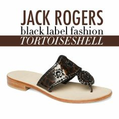 College Prep: Giveaway: Jack Rogers: Black Label Fashion in Tortoiseshell