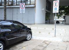 App ajuda idoso e deficiente a encontrar vaga para estacionar