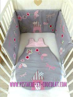 Pastel ou tonique : A vous de choisir votre ensemble de linge de lit bébé préféré ! | Pistache & Chocolat - Gigoteuses, tours de lit, housses de matelas à langer, tout pour bébé, cousu main