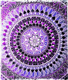 #Purple #Mandala