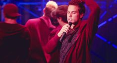 """He's a fantastic singer. 