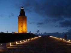Twitter / iPaisajes: Torre de Hércules, Gelete. ...
